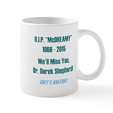 """RIP """"McDREAMY"""" Small Mug"""