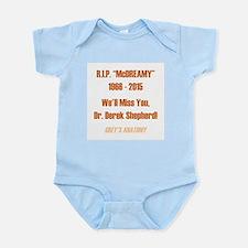 "RIP ""McDREAMY"" Infant Bodysuit"