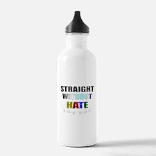 no homophobia Water Bottle