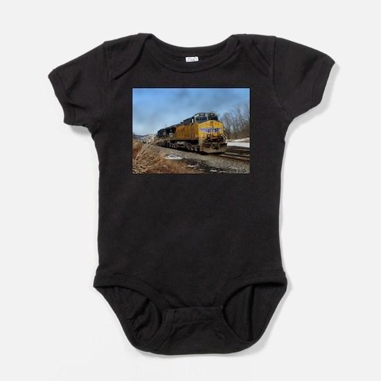 Union Pacific Baby Bodysuit