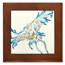 Cold phoenix Framed Tile
