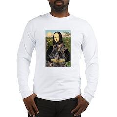 Mona's 2 Dobies Long Sleeve T-Shirt