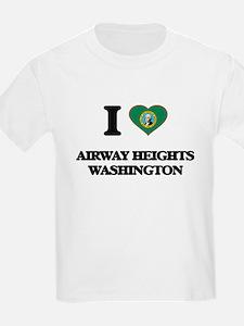I love Airway Heights Washington T-Shirt