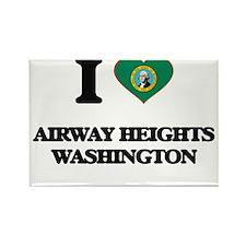 I love Airway Heights Washington Magnets