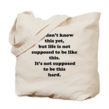 Funny Meredith grey quote Tote Bag