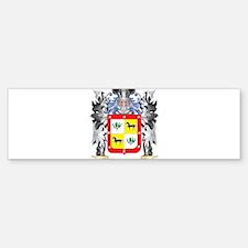 Acevedo Coat of Arms - Family Crest Bumper Bumper Bumper Sticker