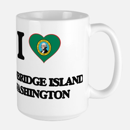 I love Bainbridge Island Washington Mugs