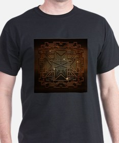 Abstract metal structure T-Shirt