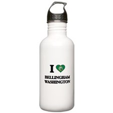 I love Bellingham Wash Water Bottle
