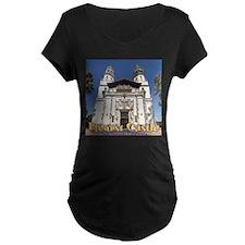 Hearst Castle Maternity T-Shirt