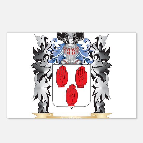 Adair Coat of Arms - Fami Postcards (Package of 8)