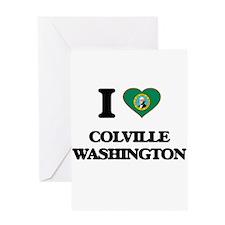 I love Colville Washington Greeting Cards