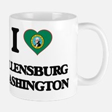 I love Ellensburg Washington Mug