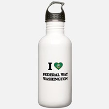 I love Federal Way Was Water Bottle