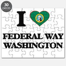 I love Federal Way Washington Puzzle