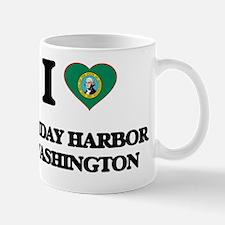 I love Friday Harbor Washington Mug