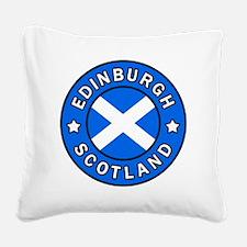 Edinburgh Square Canvas Pillow
