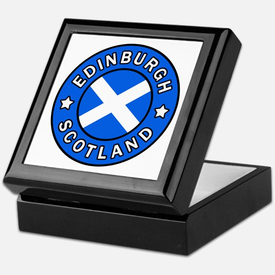 Edinburgh Keepsake Box