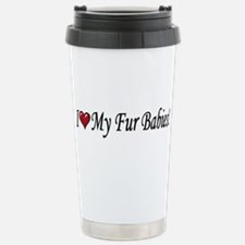 I Love My Fur Babies Travel Mug