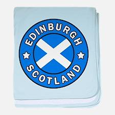 Edinburgh baby blanket