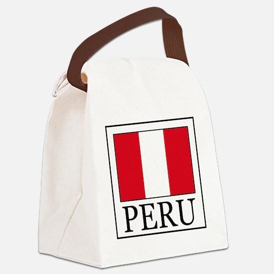 Peru Canvas Lunch Bag
