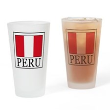 Peru Drinking Glass