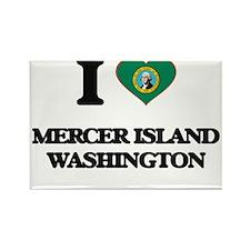I love Mercer Island Washington Magnets