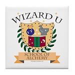 Wizard U Alchemy RPG Gamer HP Tile Coaster