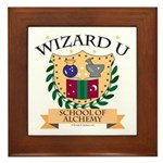 Wizard U Alchemy RPG Gamer HP Framed Tile