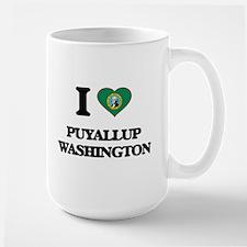 I love Puyallup Washington Mugs