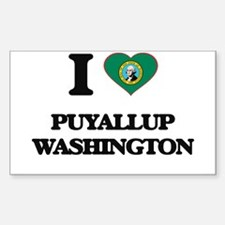 I love Puyallup Washington Decal