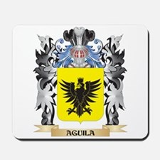 Aguila Coat of Arms - Family Crest Mousepad