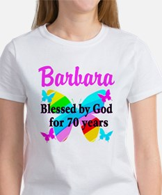 GOD LOVING 70TH Women's T-Shirt
