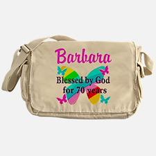 GOD LOVING 70TH Messenger Bag