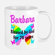 GOD LOVING 70TH Mug