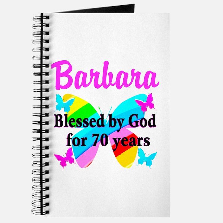 GOD LOVING 70TH Journal