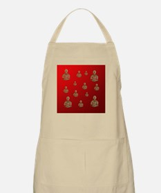 buddha in red Apron