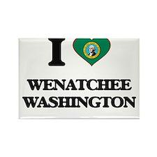 I love Wenatchee Washington Magnets