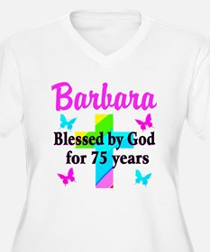 BLESSED 75 YR OLD T-Shirt