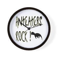 Anteaters Rock ! Wall Clock
