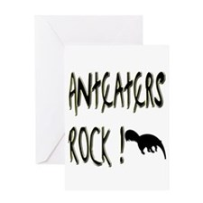 Anteaters Rock ! Greeting Card
