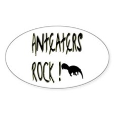 Anteaters Rock ! Oval Decal