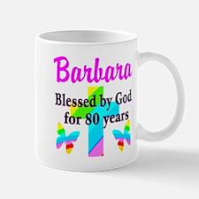 BLESSED 80 YR OLD Mug
