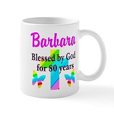 BLESSED 80 YR OLD Small Mug