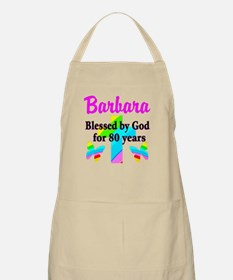 BLESSED 80 YR OLD Apron