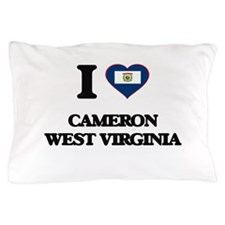 I love Cameron West Virginia Pillow Case
