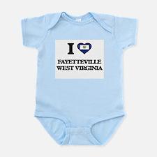 I love Fayetteville West Virginia Body Suit