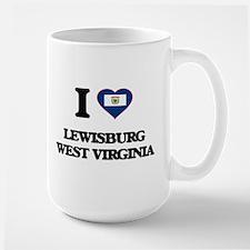 I love Lewisburg West Virginia Mugs