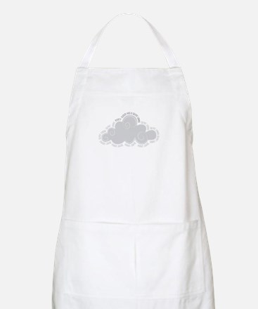 Every cloud has a silver lining Apron