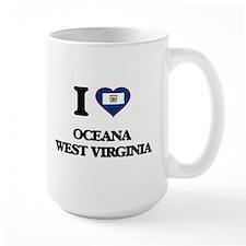I love Oceana West Virginia Mugs